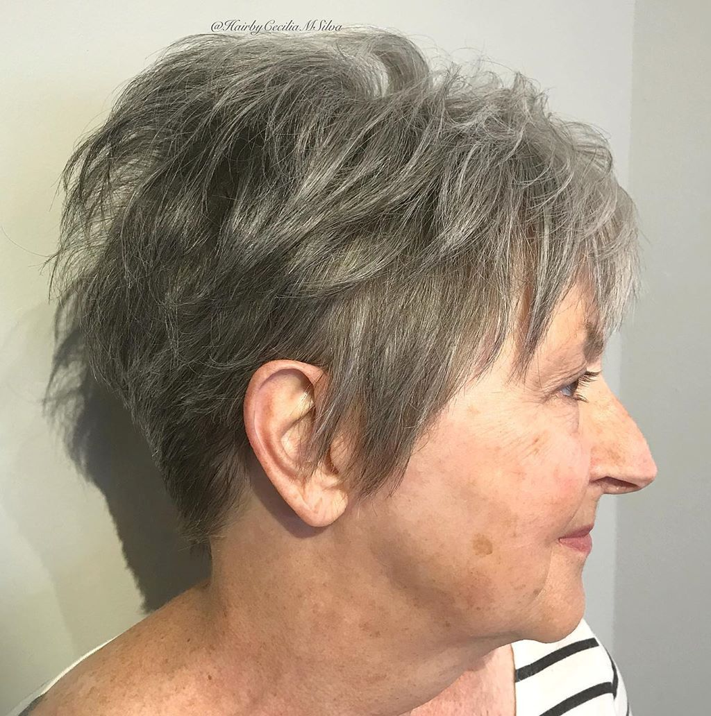 Tapered Pixie with Long Sideburns