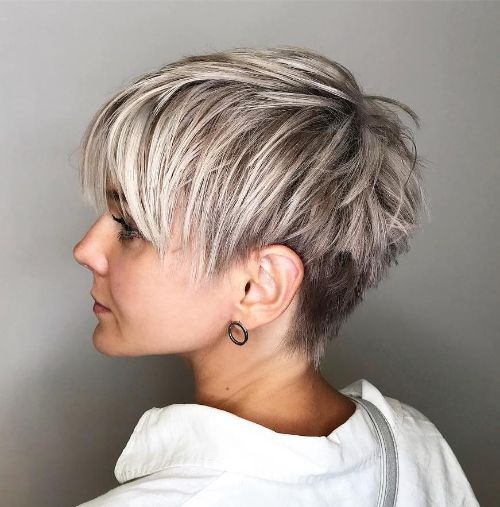 Short Spiky Choppy Pixie