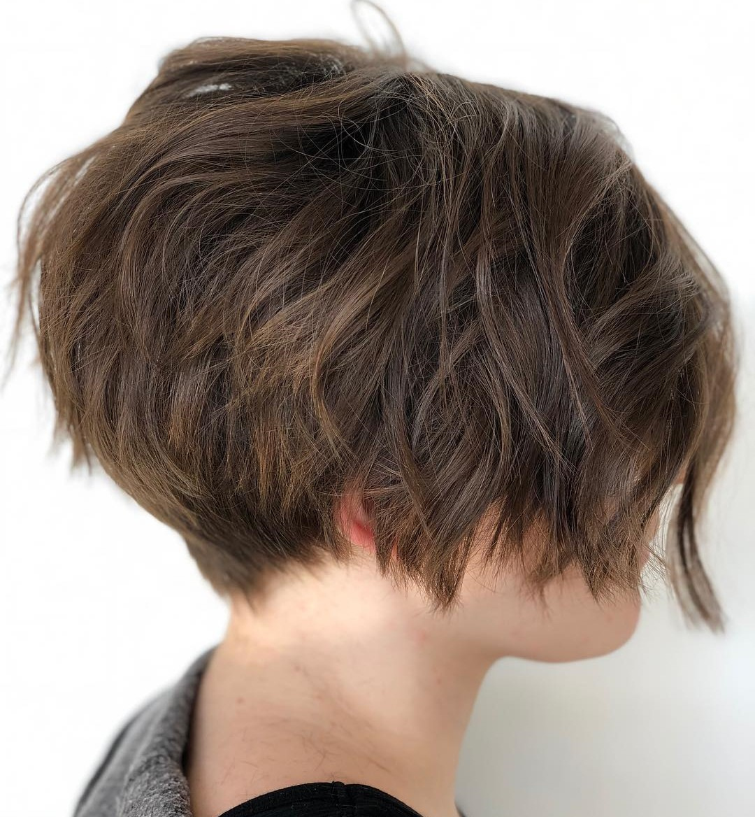Chic Pixie Bob with Razored Layers
