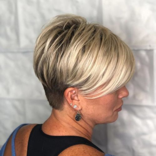 Over 40 Trendy Undercut Pixie