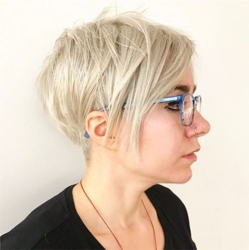 Short Layered Pixie Haircut for Fine Hair