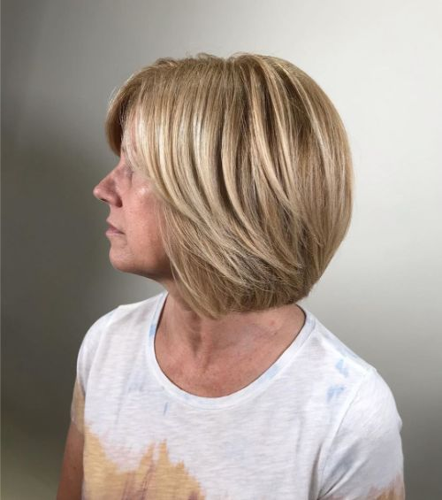 Over 40 yrs Trendy Classic Bob
