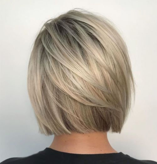Bob Haircut for Straight Fine Hair