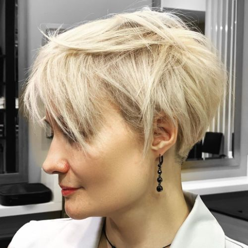 Easy Short Spiky Messy Pixie Hairstyle