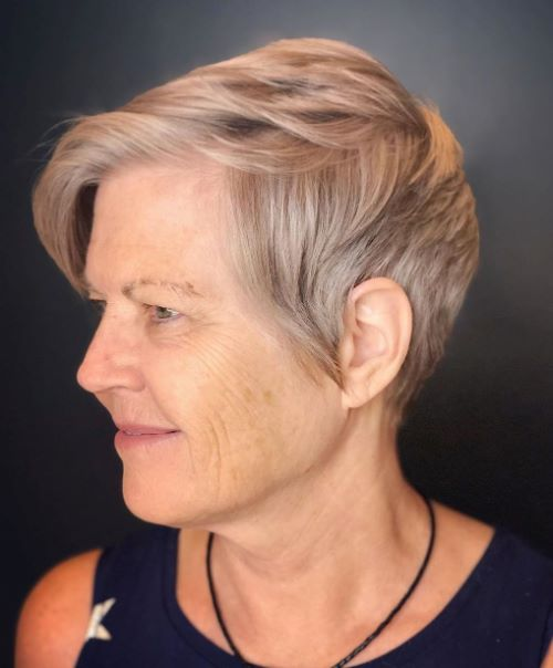 50 and Up Super Short Hair