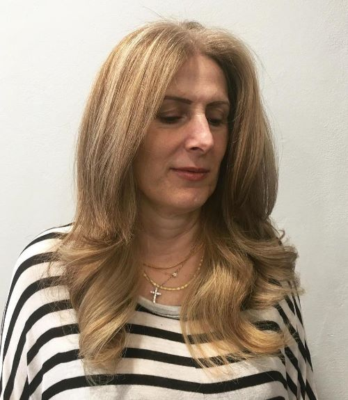 Long Hairstyle for Coarse Wavy Hair
