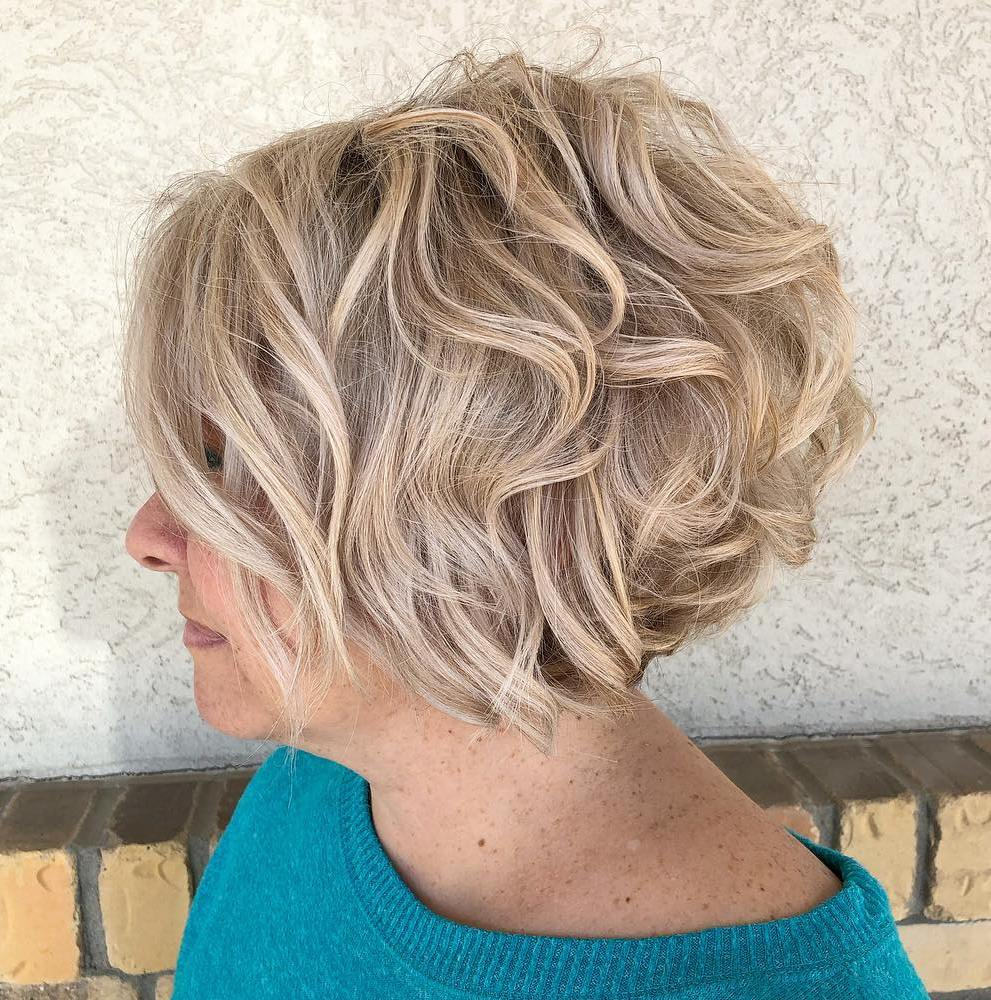 Blonde Balayage Color for Short Hair