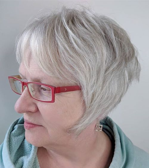 Pixie Bob for Fine Hair and Glasses