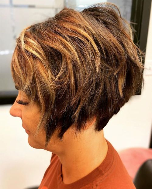 Long Pixie with Uneven Layers