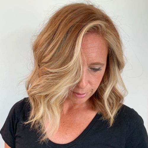 40 Plus Classic Medium Style with Waves