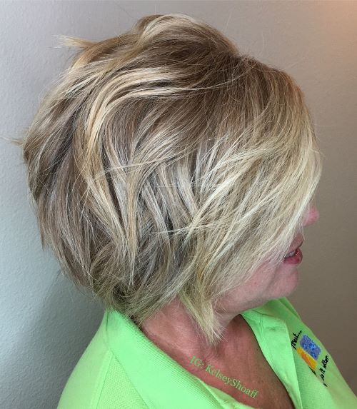 Short-to-Medium Bob with Layers