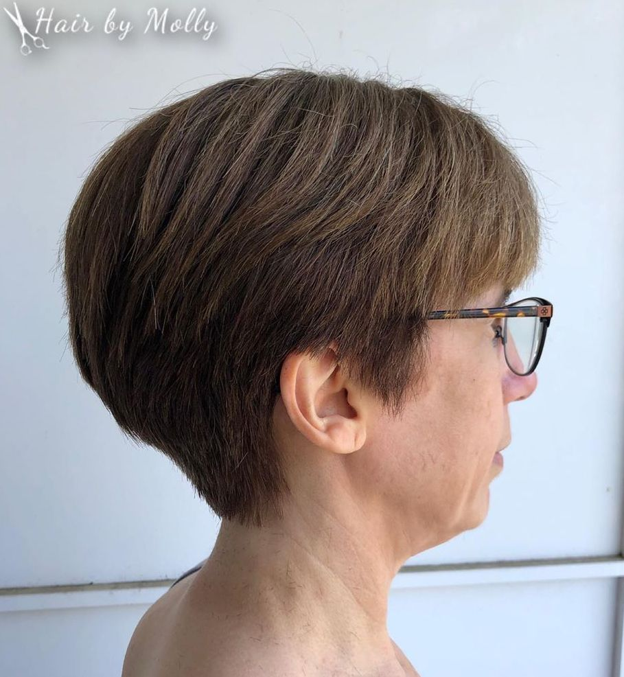 Over 50 Tapered Pixie Haircut