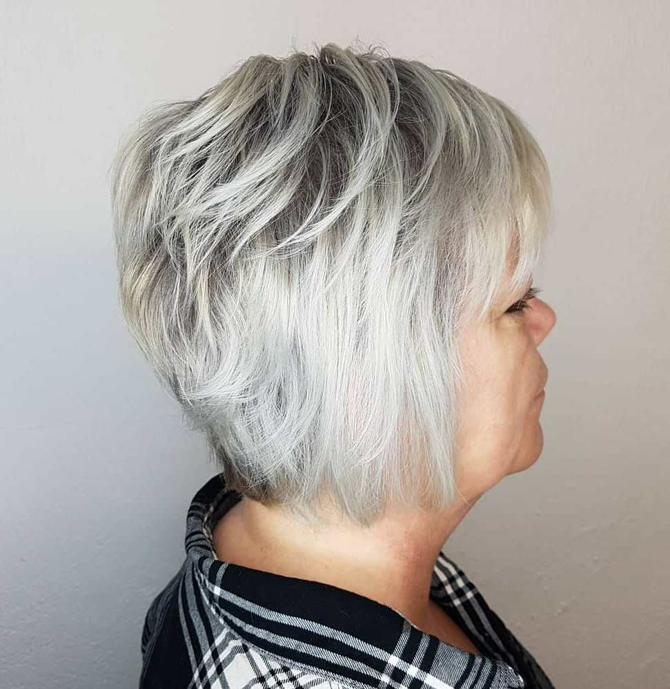 Modern Short Feathered Bob