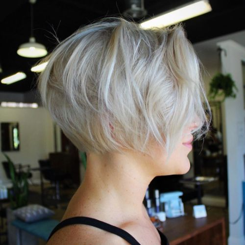 Messy Bob for Short Fine Curly Hair