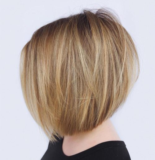 Inverted Bob for Short Fine Hair