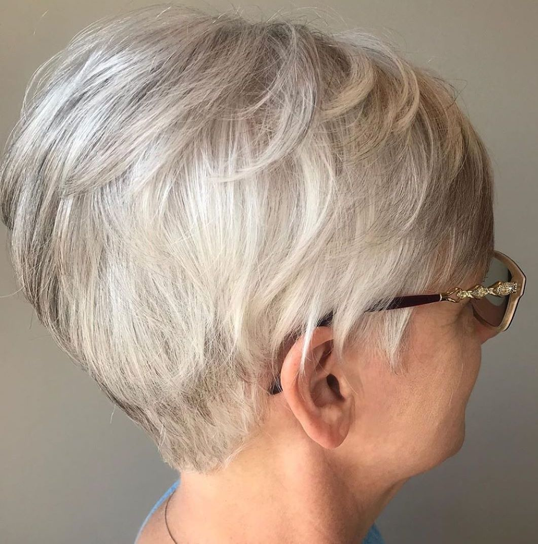 White and Gray Feathered Pixie