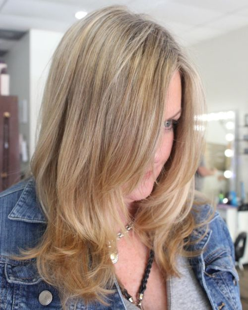 Beautiful Layered Haircut with Long Layers