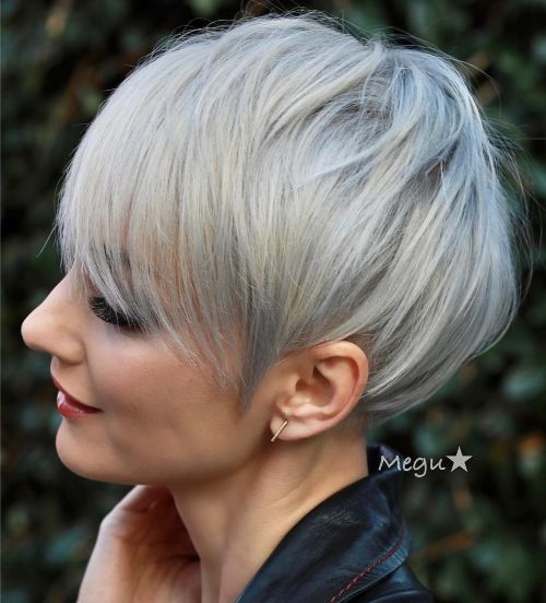 Sassy Short Pixie for Fine Hair