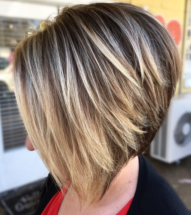 Wedge Bob for Thick Short Hair