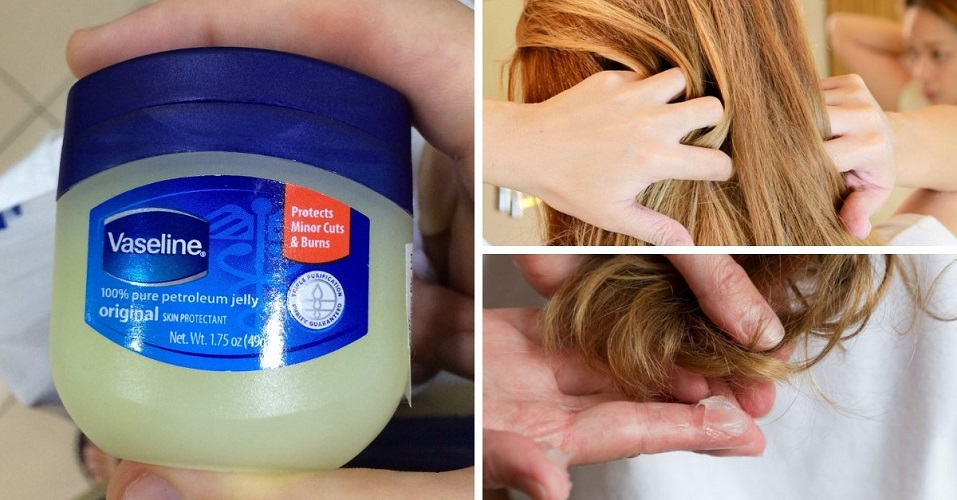 Vaseline good for your hair