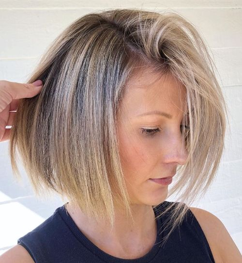 Easy to Manage Bob for Fine Hair