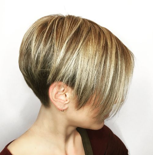 Short Asymmetrical Pixie with Undercut