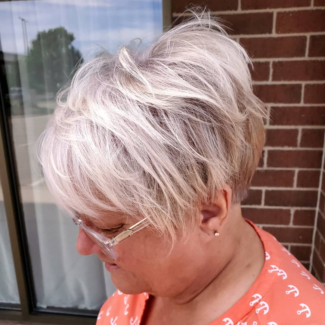 Modern Messy Pixie with Undercut