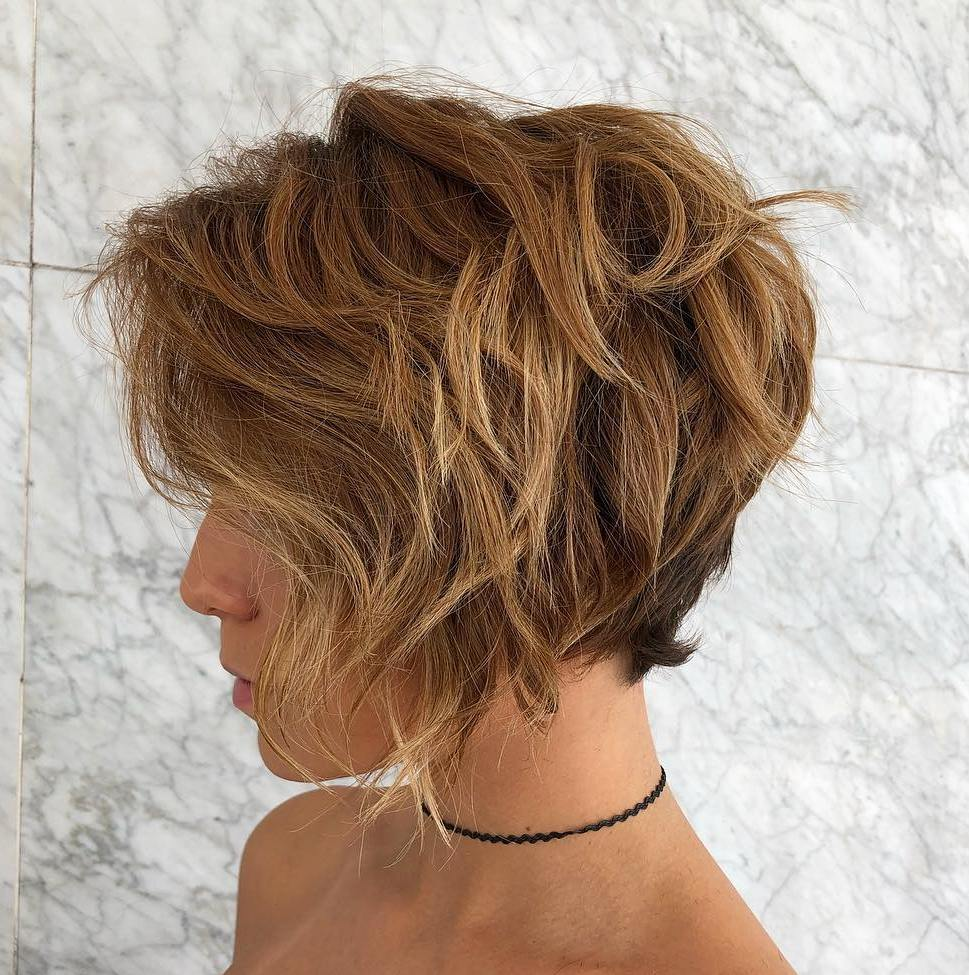 Pixie Bob for Thick Curly Hair