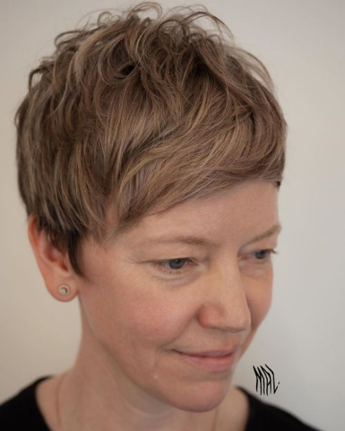 Trendy Pixie for Fine Thin Hair