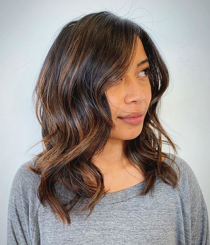 40 Medium Length Hairstyles For Thick Hair Palau Oceans