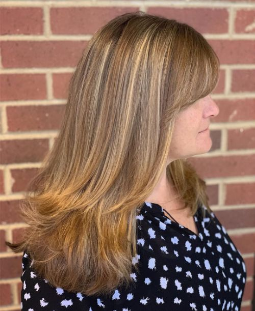 Long Haircut for Women Over 40