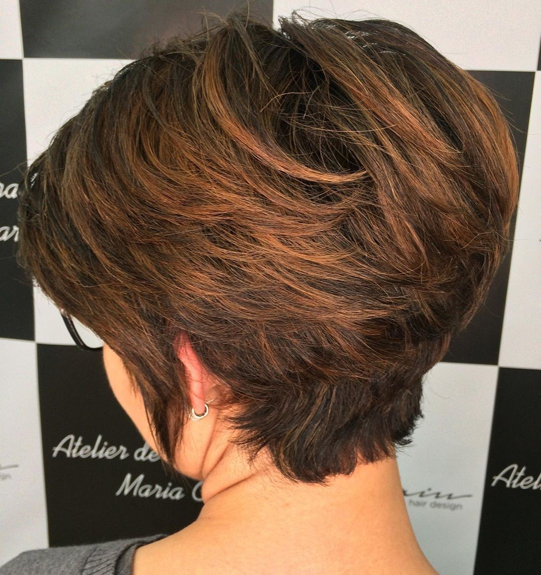 Low Maintenance Tapered Pixie