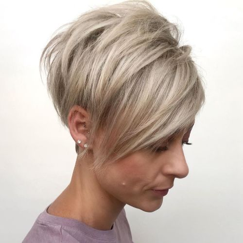 Short Pixie for Fine Thin Hair