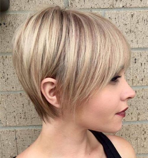 Classic Long Pixie for Short Fine Hair