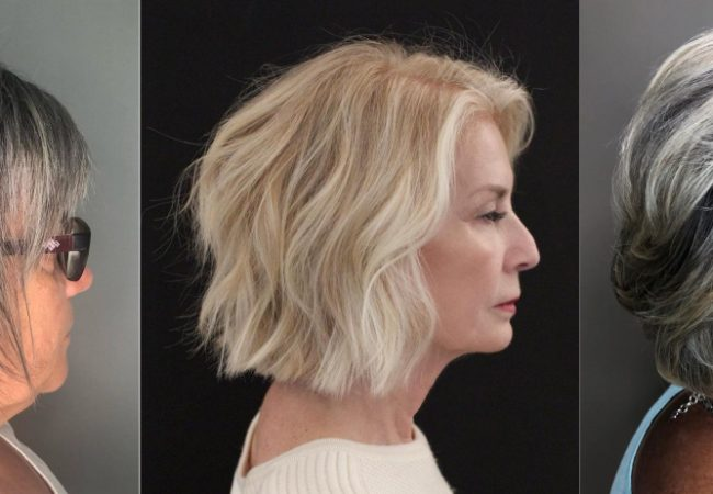 40 Stylish Short Haircuts for Women Over 60